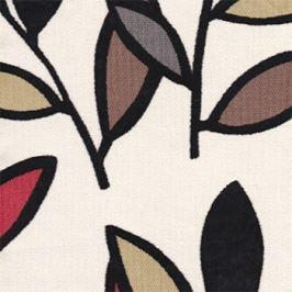 Move - Roh levý, rozkládací (kirby black/mahagon dřevo)