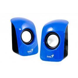 GENIUS repro SP-U115, přenosné repro, USB napájení, modré