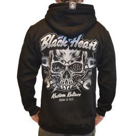 BLACKHEART Trigger Zip černá - M