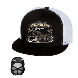BLACKHEART Jawa 350 Trucker bílá