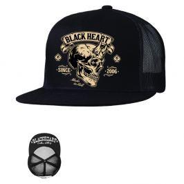 BLACKHEART Devil Skull Trucker černá