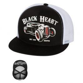 BLACKHEART Rat Rod Trucker bílá