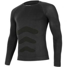 Pánské triko Lasting Apol dl.rukáv Velikost: L / XL / Barva: černá