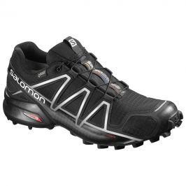 Pánské boty Salomon Speedcross 4 GTX® Velikost bot (EU): 46 (2/3) (UK 11,5) / Barva: Černá/Stříbrná