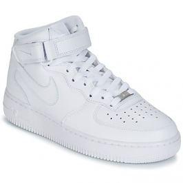 Nike  AIR FORCE 1 MID 07 LEATHER  Bílá