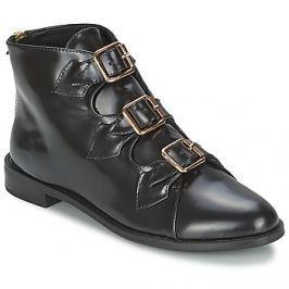 F-Troupe  Triple Buckle Boot  Černá