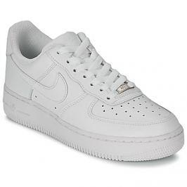 Nike  AIR FORCE 1 07 LEATHER W  Bílá