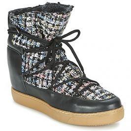Meline  DERNA  Černá Kotníkové boty