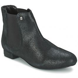 Elle  MABILLON  Černá Kotníkové boty