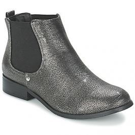 Moony Mood  HELMA  Stříbrná Kotníkové boty
