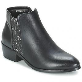 Moony Mood  PAPILLOTTE  Černá Kotníkové boty