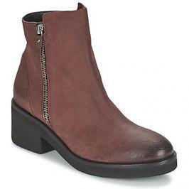 Vic  ASCILLE  Červená Kotníkové boty