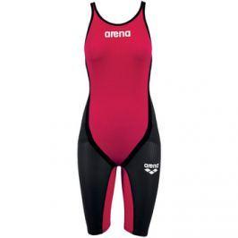 Arena  Powerskin Carbon Flex Full Body Short Leg Close Suit  Červená Plavky