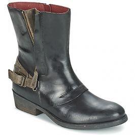 Kickers  AMERIKO  Černá Kotníkové boty