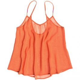 Roxy  Sand Dune  Oranžová Tílka / Trička bez rukávů