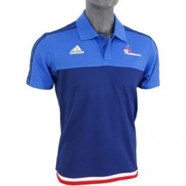 adidas  FFHB Anthem Polo  Modrá Pánská trička