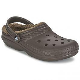 Crocs  CLASSIC LINED CLOG  Hnědá