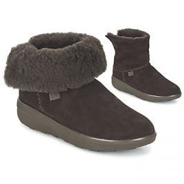 FitFlop  SUPERCUSH MUKLOAFF SHORTY SUEDE  Hnědá