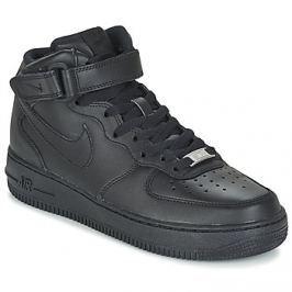 Nike  AIR FORCE 1 '07 MID W  Černá
