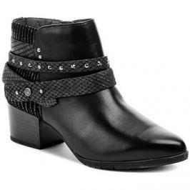Jana  8-25321-27 černá dámská obuv šíře H  Černá