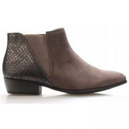 Claudia Ghizzani  Černo-šedé kotníkové boty  ruznobarevne
