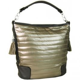 Bella Belly  Moderní zlatá kombinovaná kabelka 1944  Zlatá