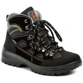 Jacalu  A2043z21 černé outdoorvé boty  Černá