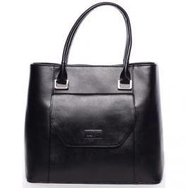 Maggio  Dámská luxusní kabelka černá  -  Marcelle  Černá