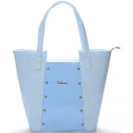 Delami  Dámská kabelka přes rameno modrá s cvočky -  Annie  Modrá