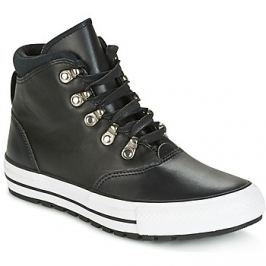 Converse  CHUCK TAYLOR ALL STAR EMBER BOOT SMOOTH LEATHER HI BLACK/BLACK/W  Černá