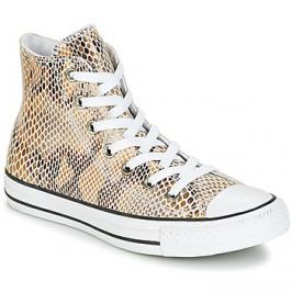Converse  CHUCK TAYLOR ALL STAR FASHION SNAKE HI NATURAL/BLACK/WHITE  Béžová