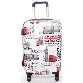 David Jones  Cestovní kufr London -  S  Bílá