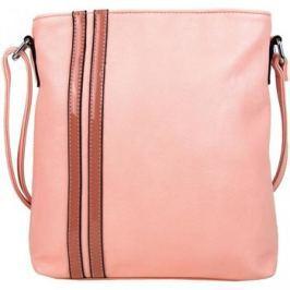 New Berry  Elegantní crossbody kabelka YH1641 lososová  Růžová