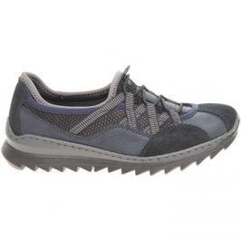 Rieker  dámská obuv M6251-14 modrá  Modrá