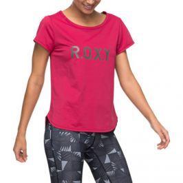 Roxy  Shiny Way Tee  Červená