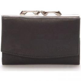 Delami  Stylová černá dámská peněženka -  9368  Černá