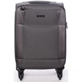 Menqite  Cestovní kufr šedý -  Prue L