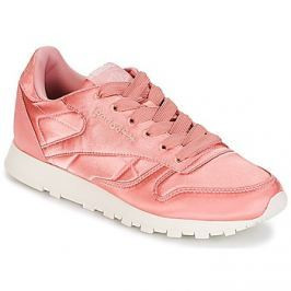 Reebok Classic  CLASSIC LEATHER SATIN  Růžová