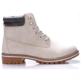 Canadians  Bílé boty farmářky  ruznobarevne