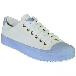 Seastar  Modro-biele vychádzkové topánky LISA  Bílá