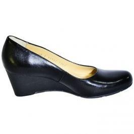 Acord  Čierne topánky na klinovom opätku  IDENIS  Černá