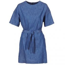 G-Star Raw  DELINE SHIRT DRESS S/S  Modrá