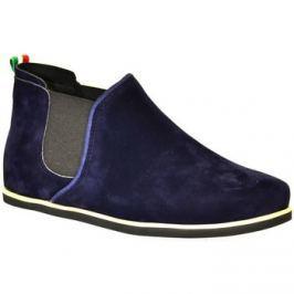 John-C  Dámske tmavo-modré členkové topánky ORIOS  Other