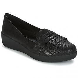 FitFlop  Fringey Sneakerloafer  Černá