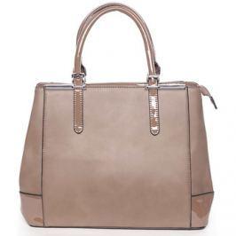 Silvia Rosa  Khaki elegantní a luxusní kabelka matná s leskem -  Justina  ruznobarevne