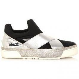 Sixty Seven  Černo stříbrné boty  ruznobarevne