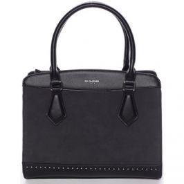 David Jones  Elegantní černá dámská kabelka -  Tessa  Černá