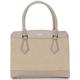 David Jones  Elegantní světlá khaki dámská kabelka -  Tessa  ruznobarevne