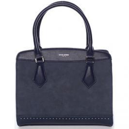 David Jones  Elegantní tmavě modrá dámská kabelka -  Tessa  Modrá Kabelky