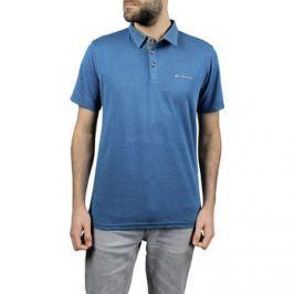 Columbia  Nelon Point Polo  Modrá Pánská trička